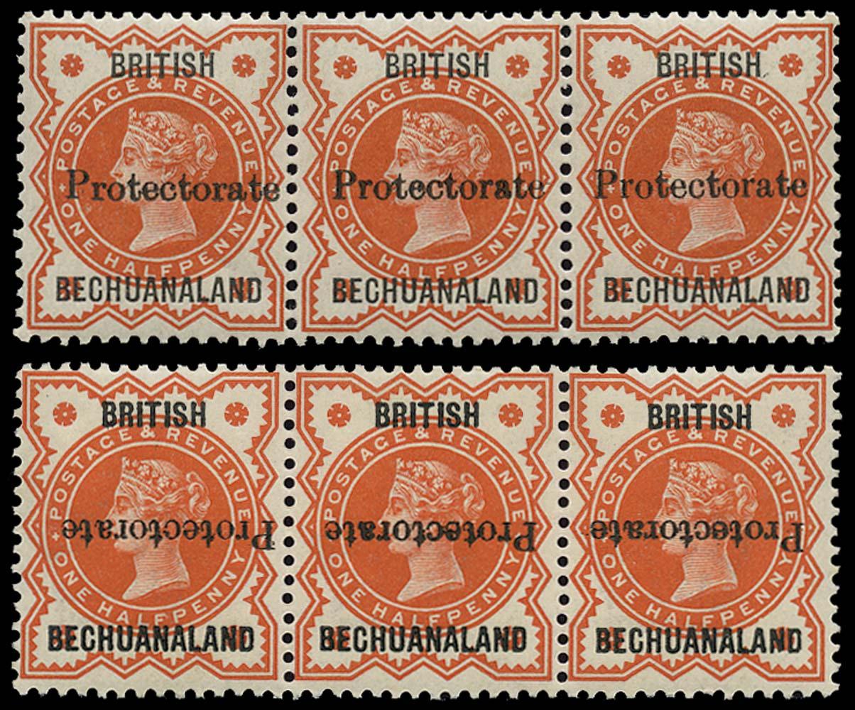 BECHUANALAND 1890  SG54, 54a Mint