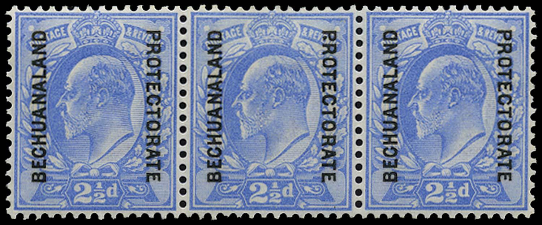 BECHUANALAND 1904  SG69/a Mint 2½d Stop after P