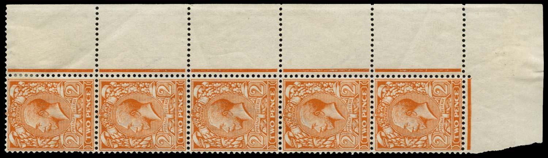 GB 1912  SG368var Mint complete