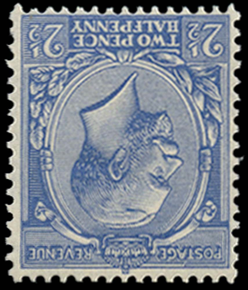 GB 1924  SG422wi Mint Pale Blue Wmk inverted U/M
