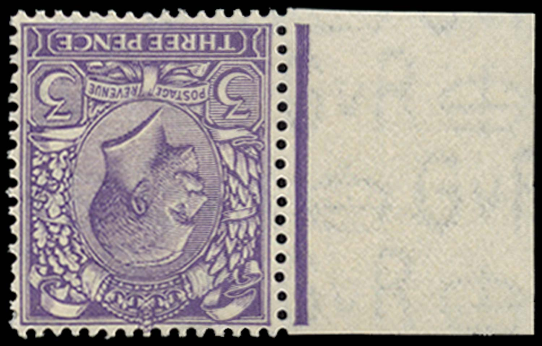 GB 1924  SG423var Mint U/M example