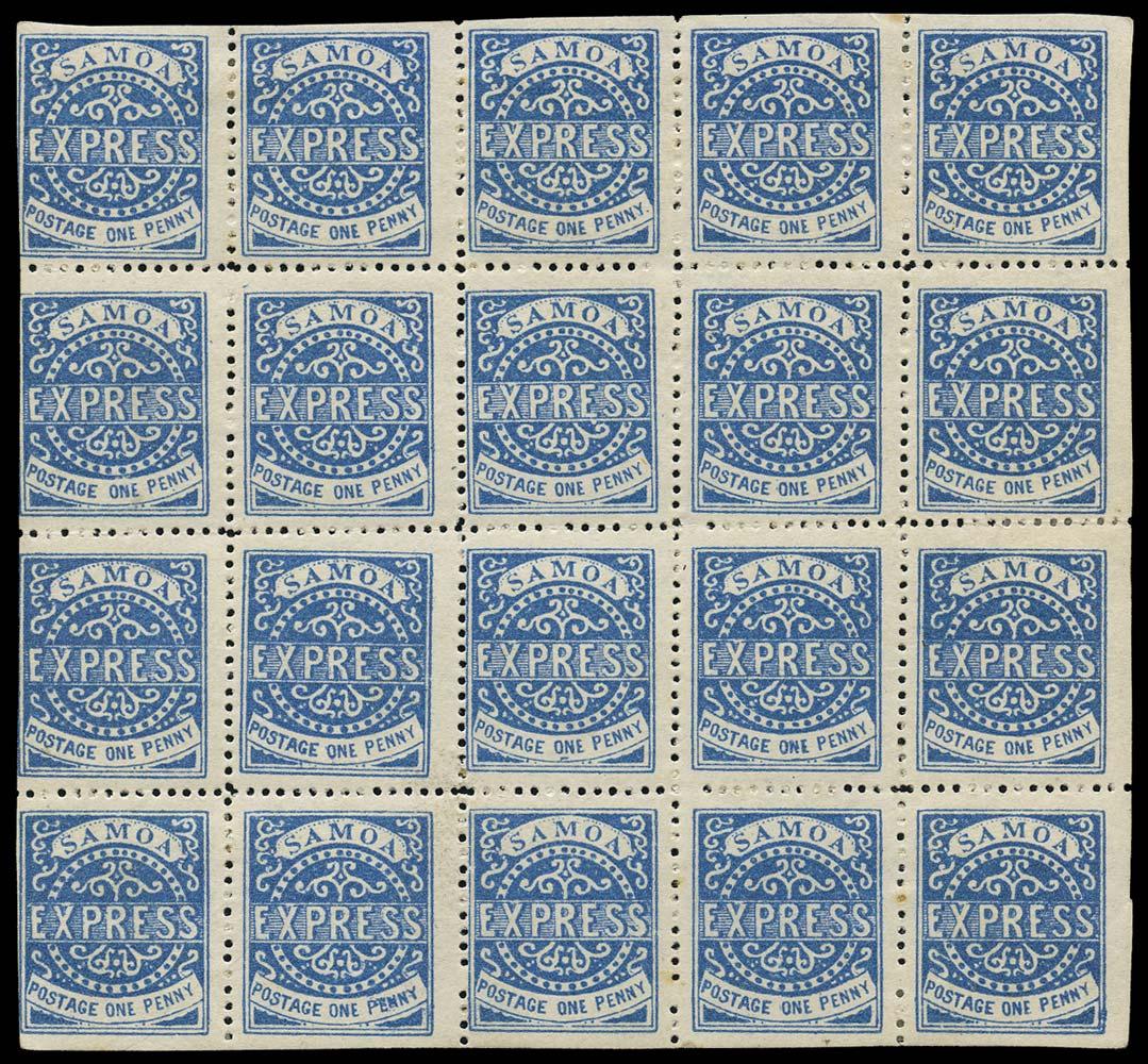 SAMOA 1877  SG15 Mint