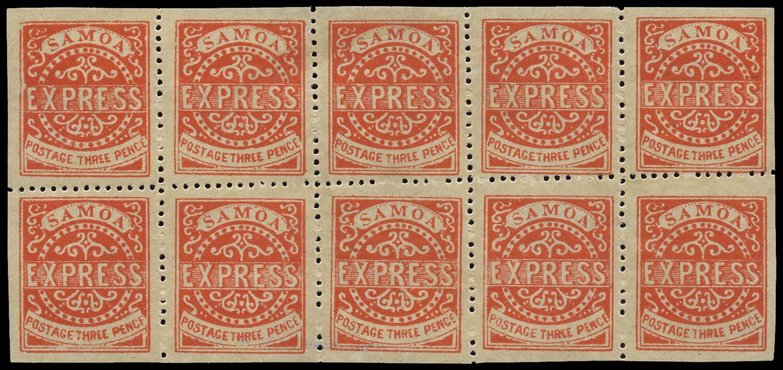 SAMOA 1877  SG16 Mint