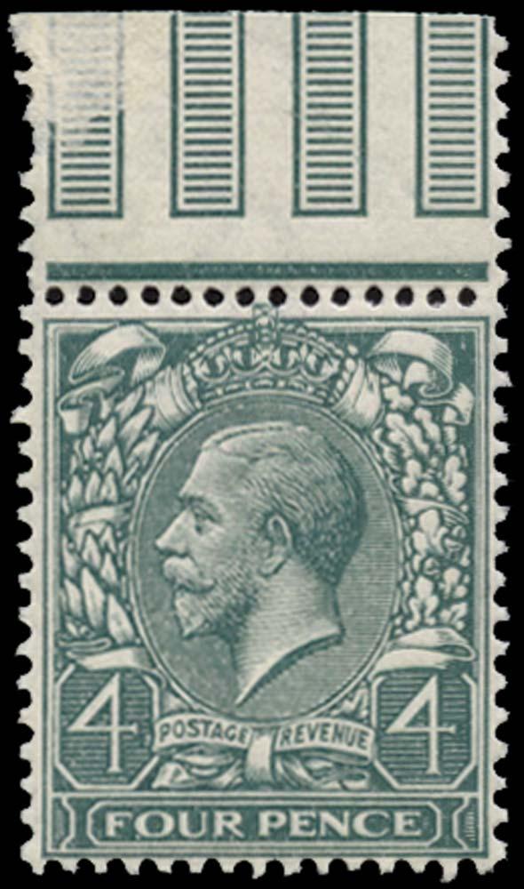 GB 1913  SG379wj Mint Watermark Reversed U/M