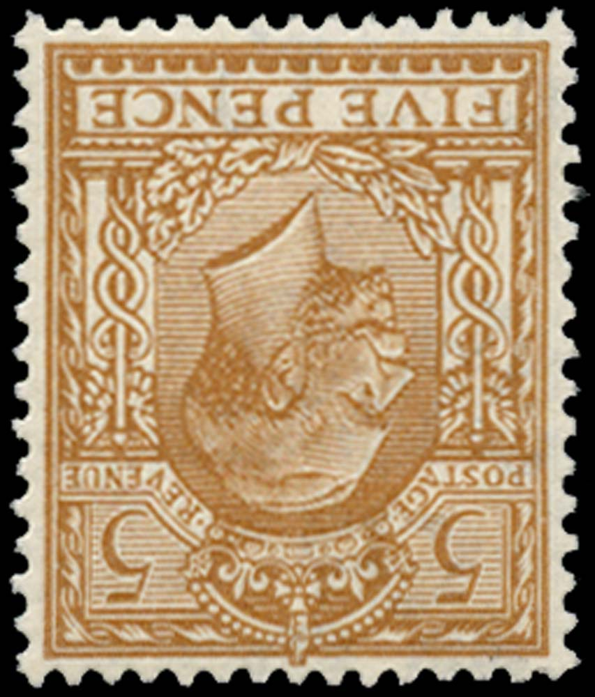 GB 1913  SG381wi Mint (Wmk. Royal cypher, Inverted) U/M