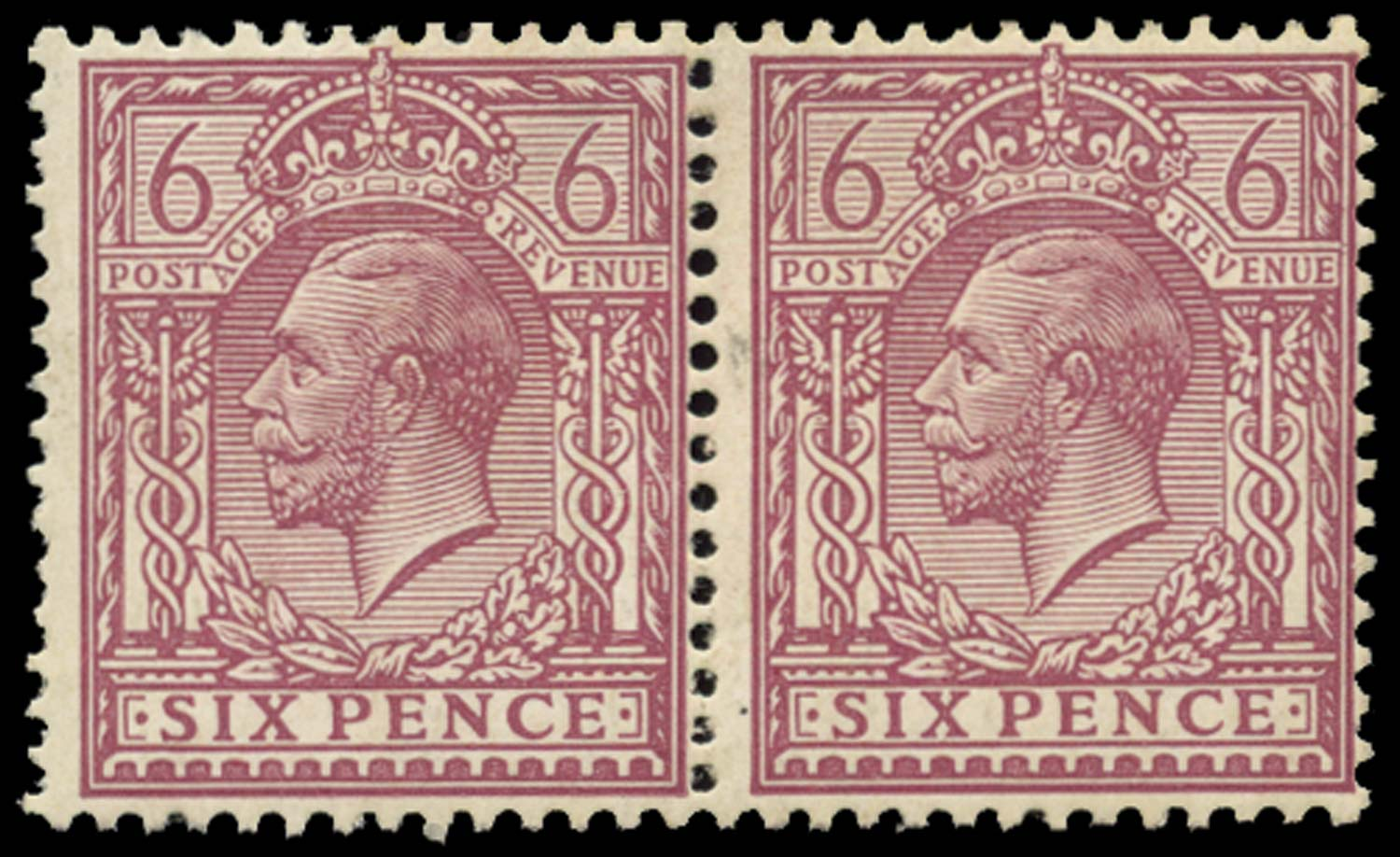 GB 1920  SG385a var Mint Perf 14,