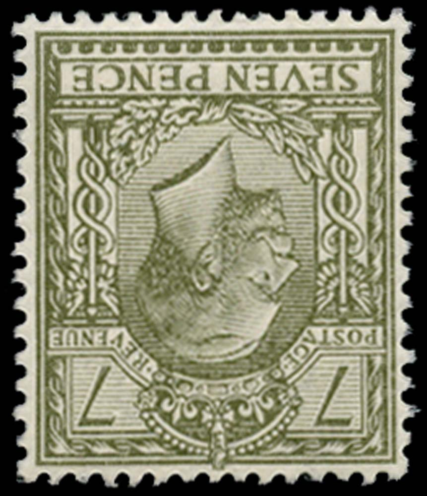 GB 1913  SG387wi Mint M/M Wmk. Royal Cypher Inverted