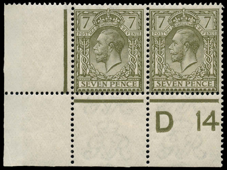 GB 1913  SG387 Mint U/M example