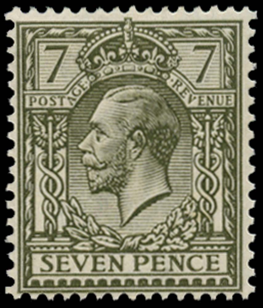 GB 1915  SG388 Mint M/M example