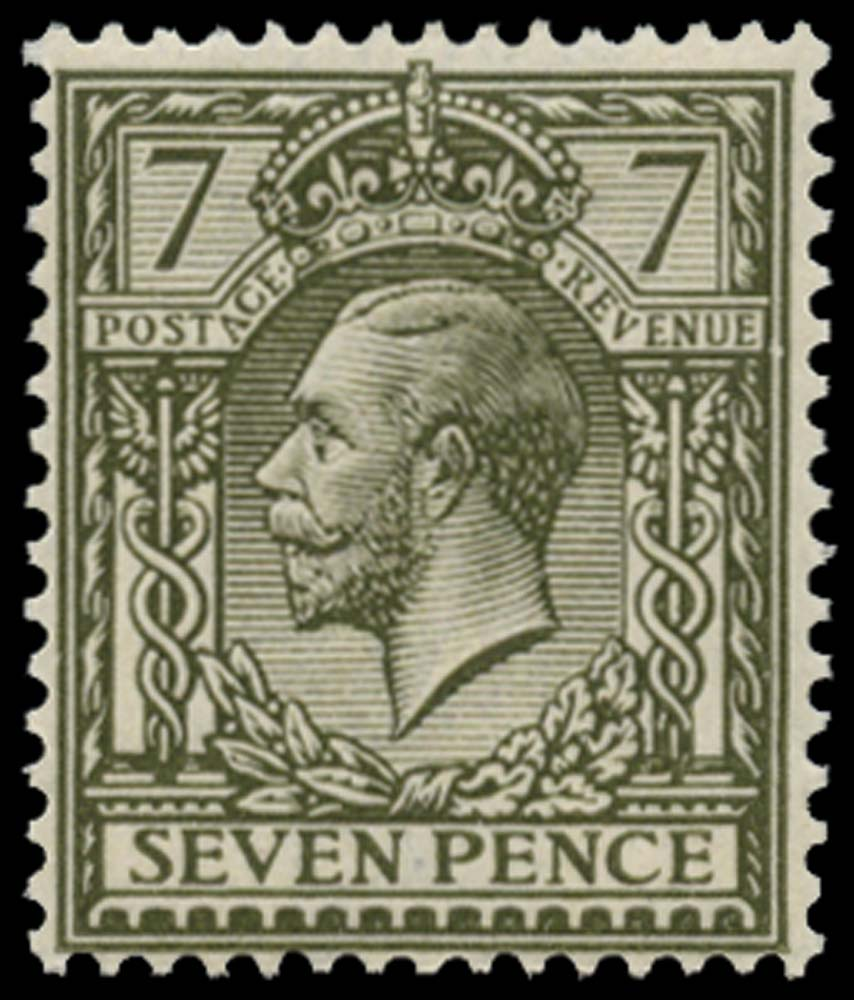 GB 1915  SG388 Mint M/M example