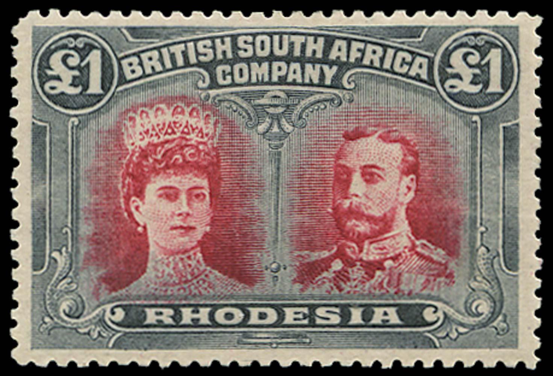 RHODESIA 1910  SG166 Mint