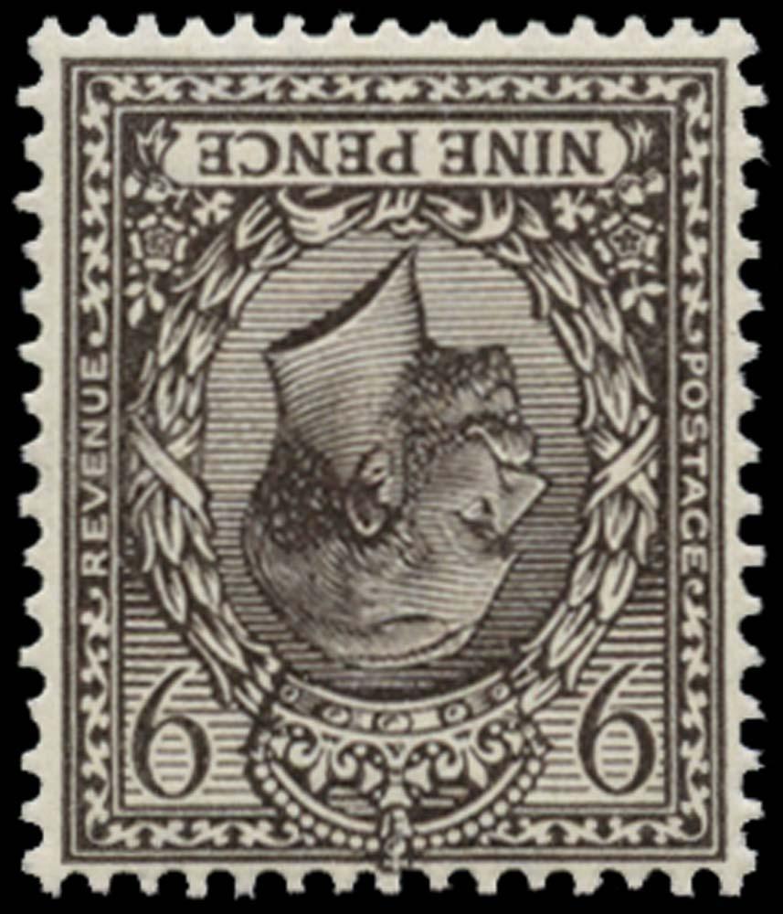 GB 1913  SG392wk Mint Wmk. Inverted & reversed M/M example