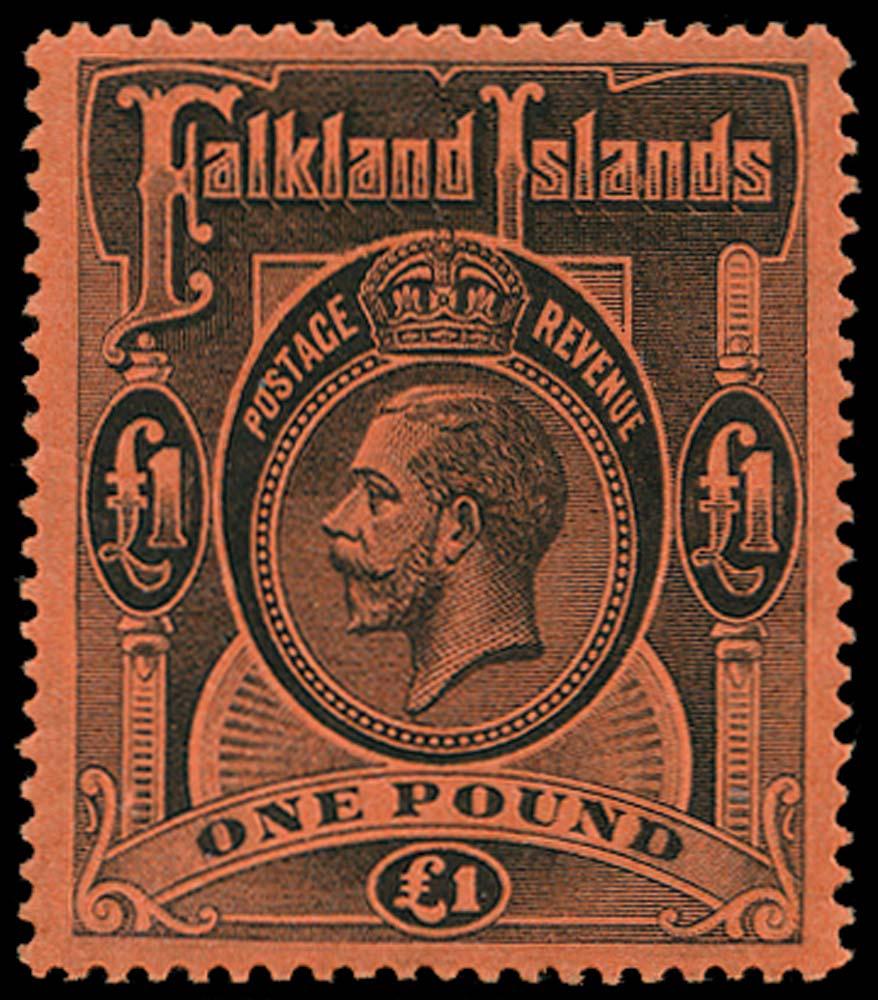 FALKLAND ISLANDS 1912  SG69 Mint