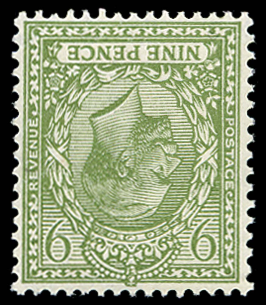 GB 1922  SG393awi Mint Wmk. Inverted M/M example