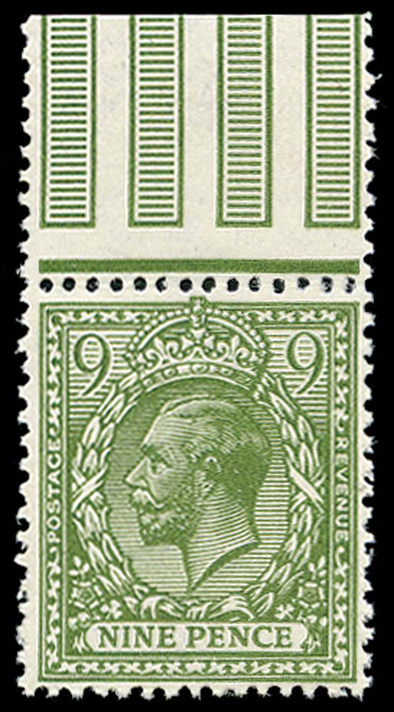 GB 1922  SG393avar Mint U/M example