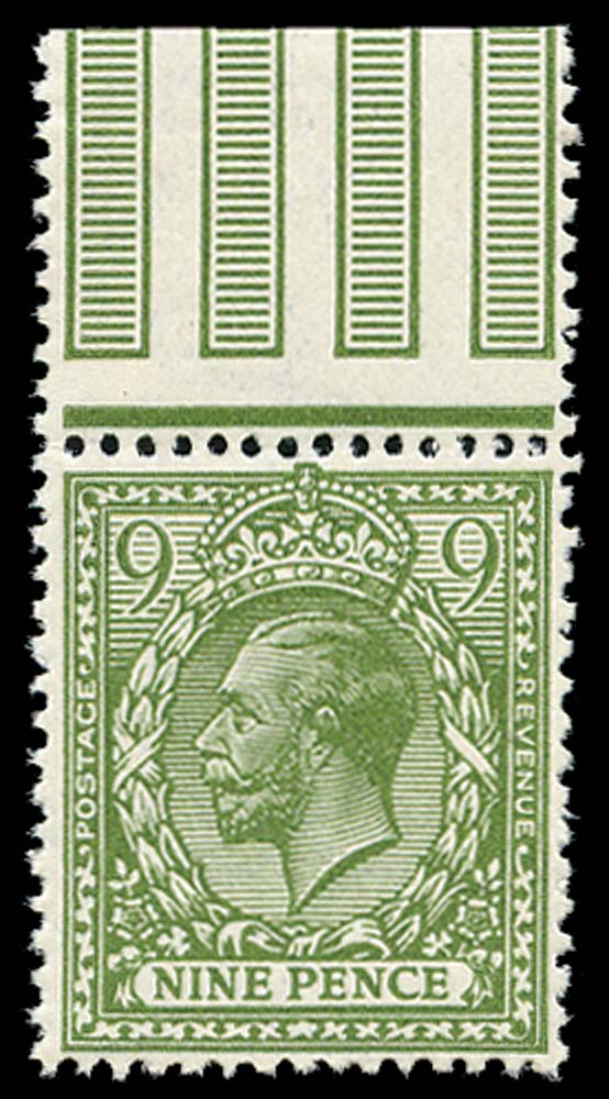 GB 1922  SG393avar Mint U/M example