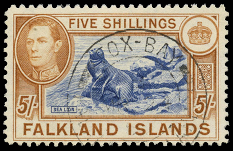 FALKLAND ISLANDS 1938  SG161b Used