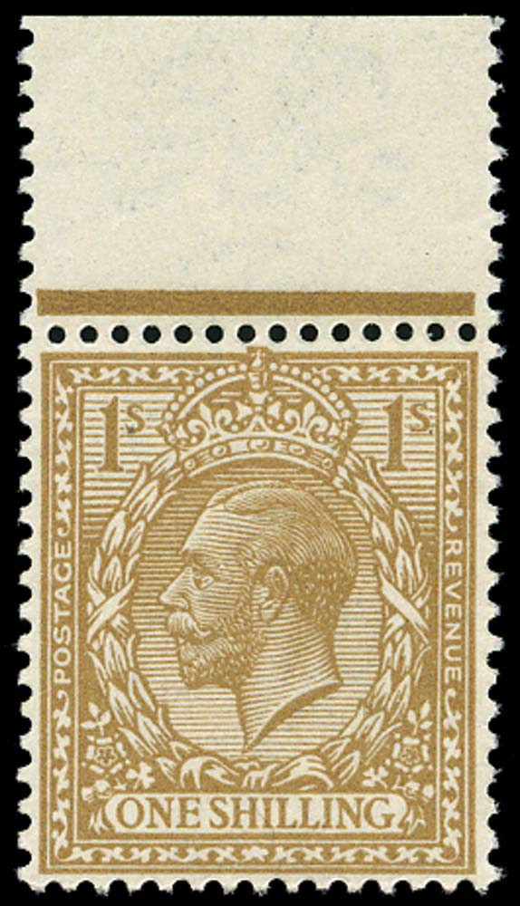 GB 1916  SG395var Mint Fawn-brown M/M example