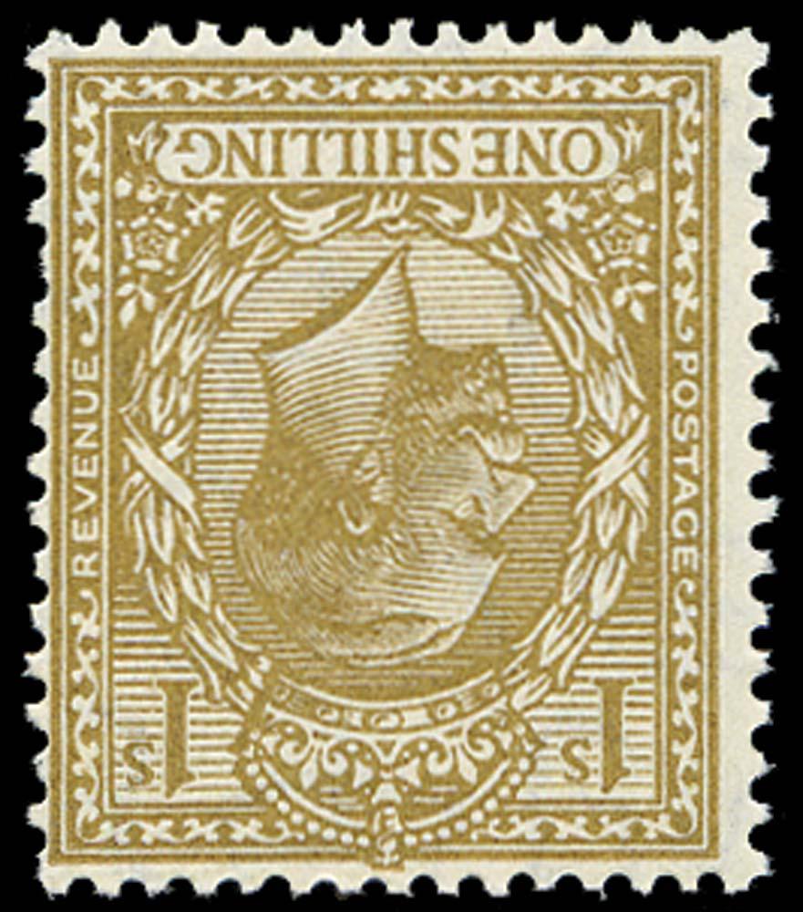 GB 1924  SG429wi Mint unused Wmk Inverted example