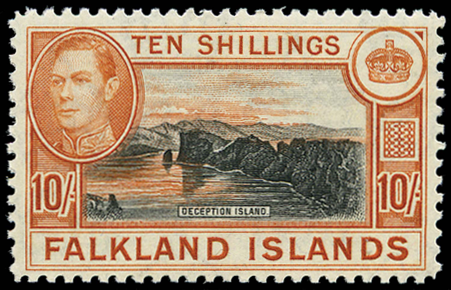 FALKLAND ISLANDS 1944  SG162b Mint