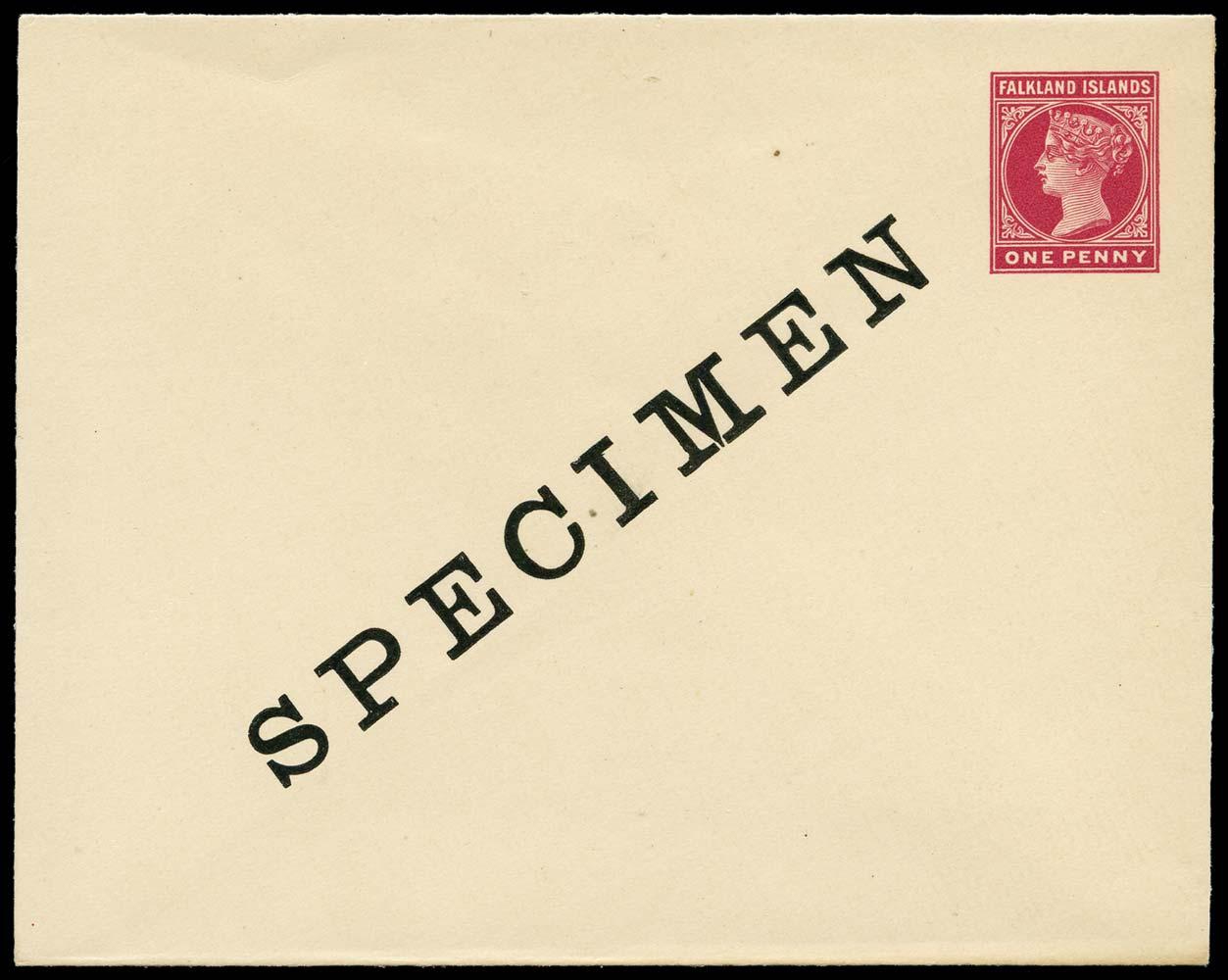 FALKLAND ISLANDS 1899 Specimen
