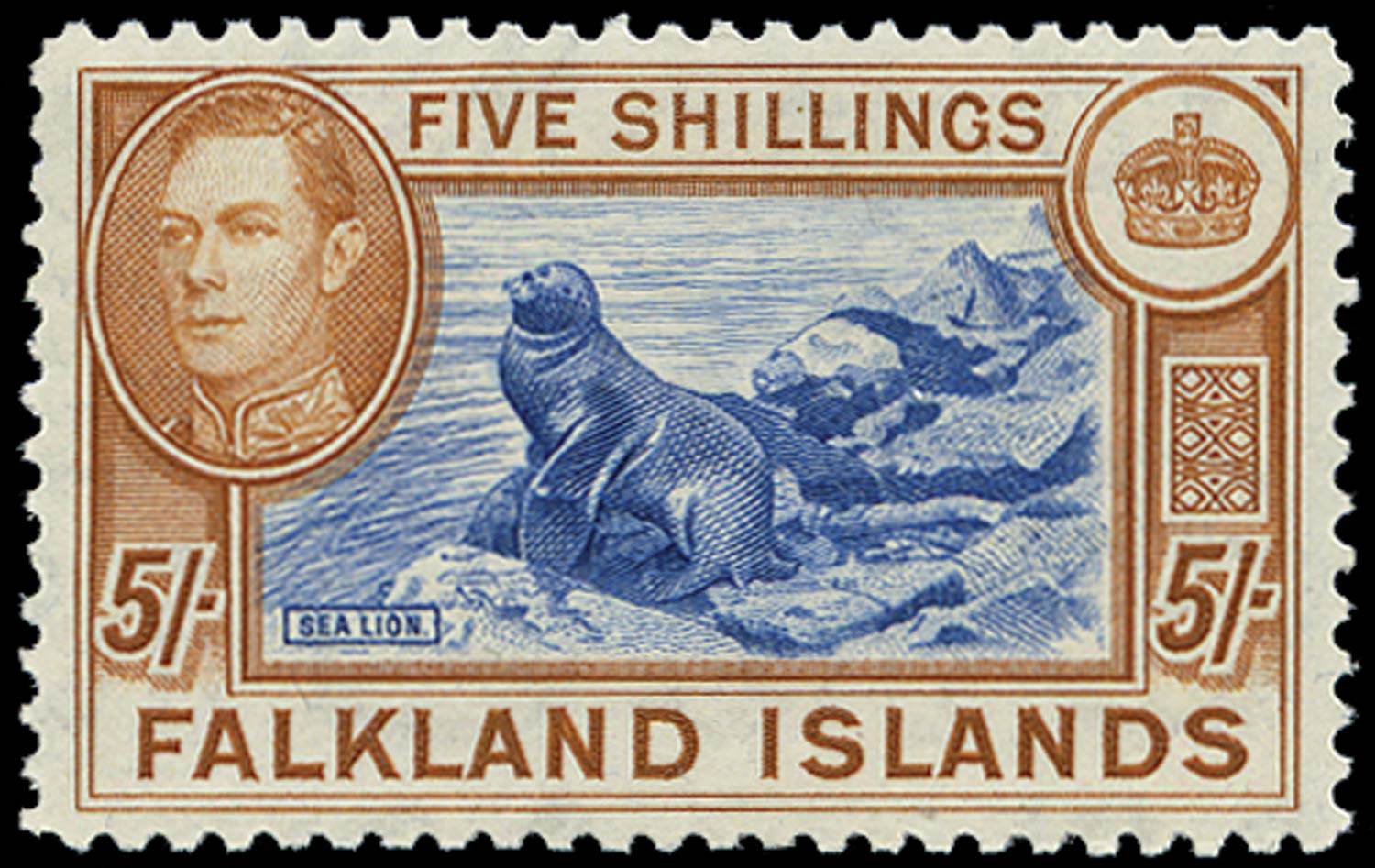 FALKLAND ISLANDS 1949  SG161d Mint
