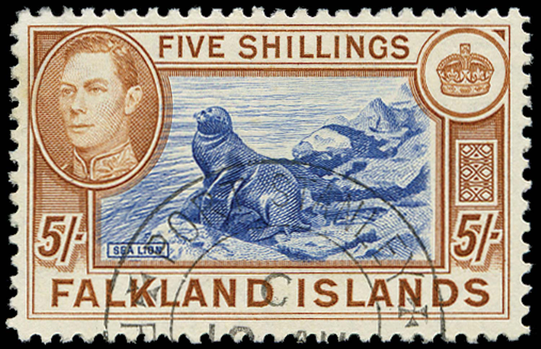 FALKLAND ISLANDS 1938  SG161 Used