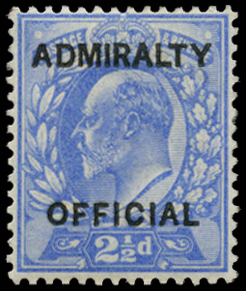GB 1903  SGO105 Official o.g. example
