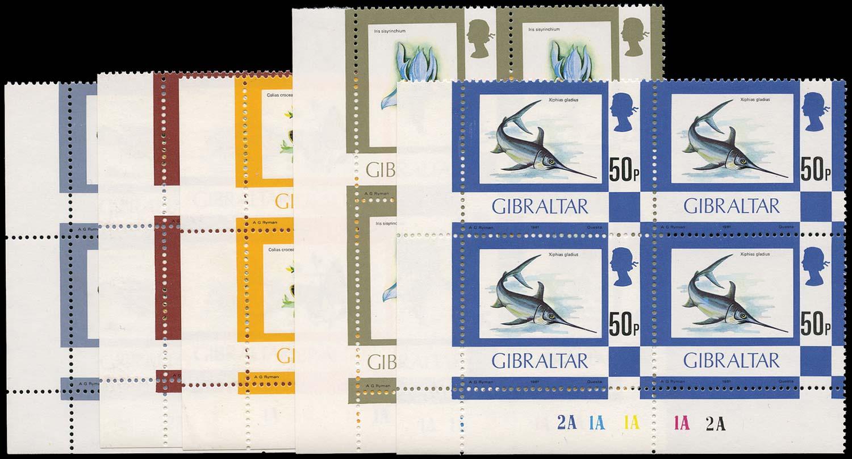 GIBRALTAR 1981  SG379b/387a Mint