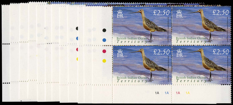 BRITISH INDIAN OCEAN 2004  SG296/307 Mint