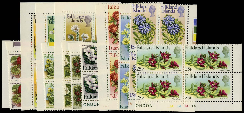 FALKLAND ISLANDS 1972  SG276/88 Mint