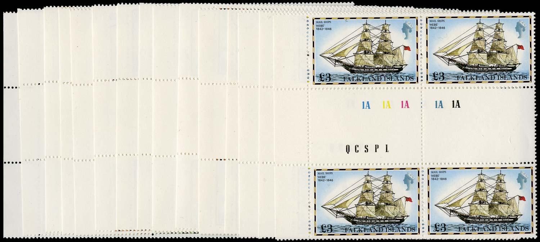 FALKLAND ISLANDS 1978  SG331A/345A Mint