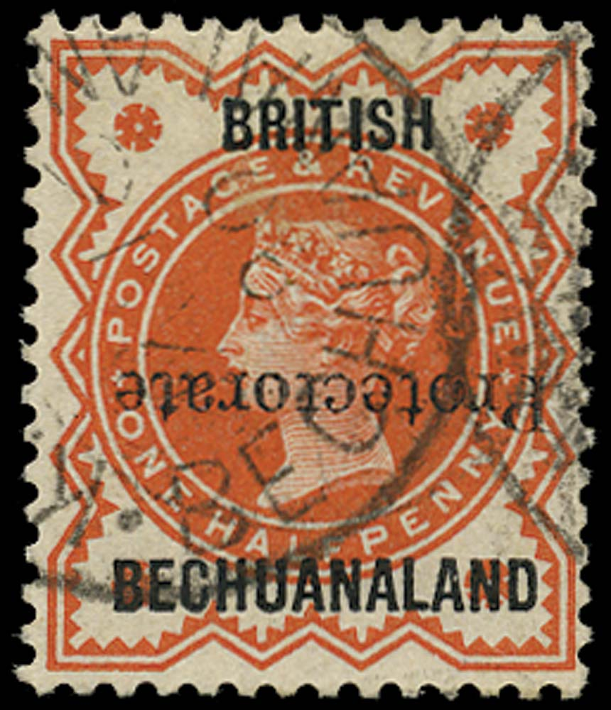 BECHUANALAND 1890  SG54a Used