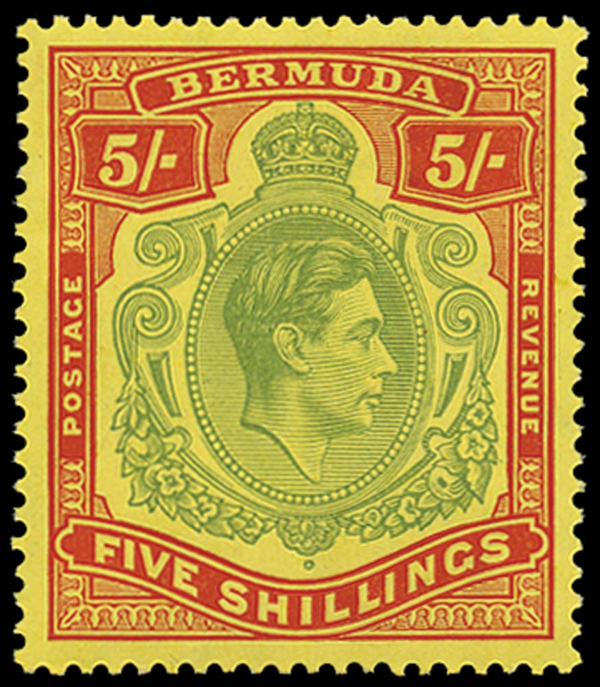 BERMUDA 1939  SG118a Mint