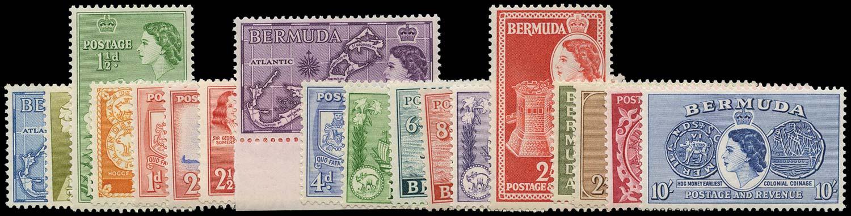 BERMUDA 1953  SG135/50 Mint