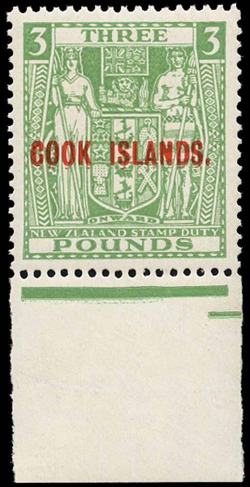COOK ISLANDS 1936-44  SG123b Mint