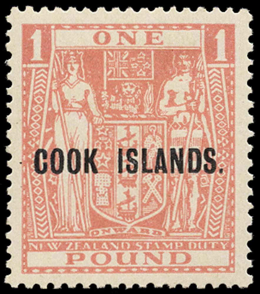 COOK ISLANDS 1954  SG134w Mint