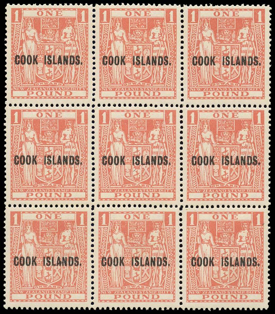 COOK ISLANDS 1947  SG134 Mint