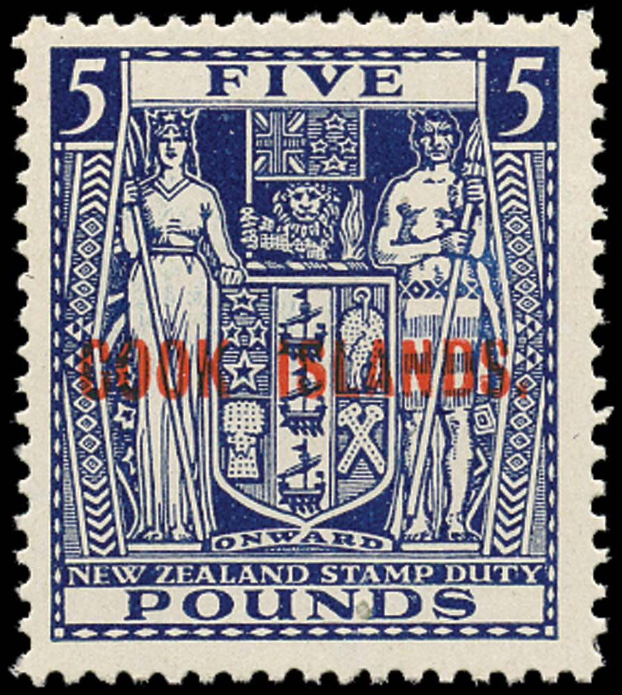 COOK ISLANDS 1950  SG136 Mint