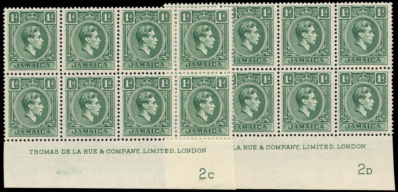 JAMAICA 1951  SG122a Mint