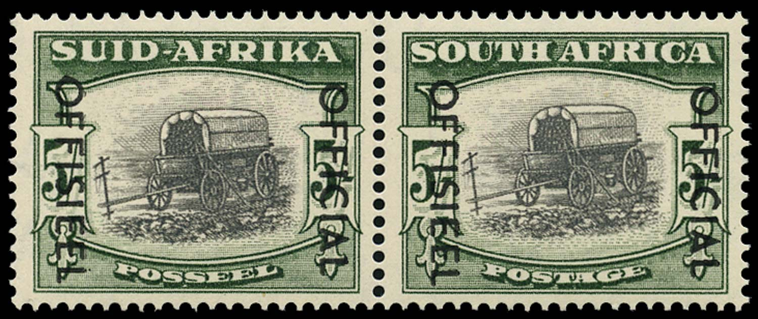 SOUTH AFRICA 1954  SGO50a Official