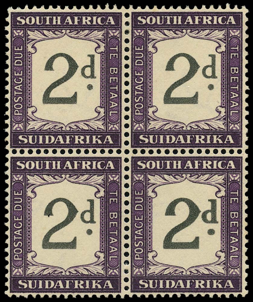 SOUTH AFRICA 1939  SGD26/a Postage Due
