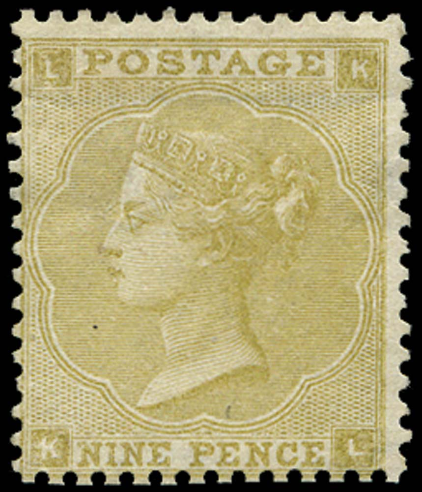 GB 1862  SG87 Pl.2 Mint