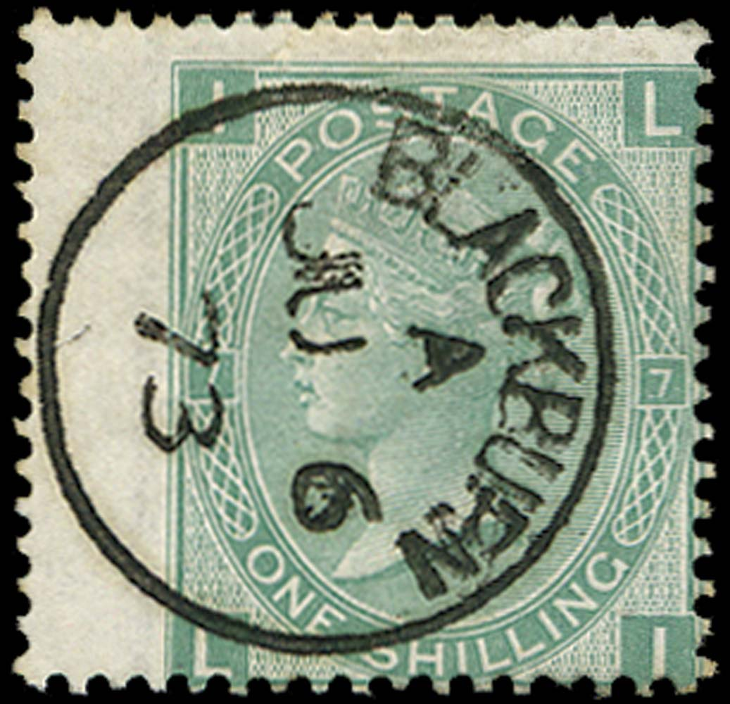 GB 1873  SG117 Pl.7 Used