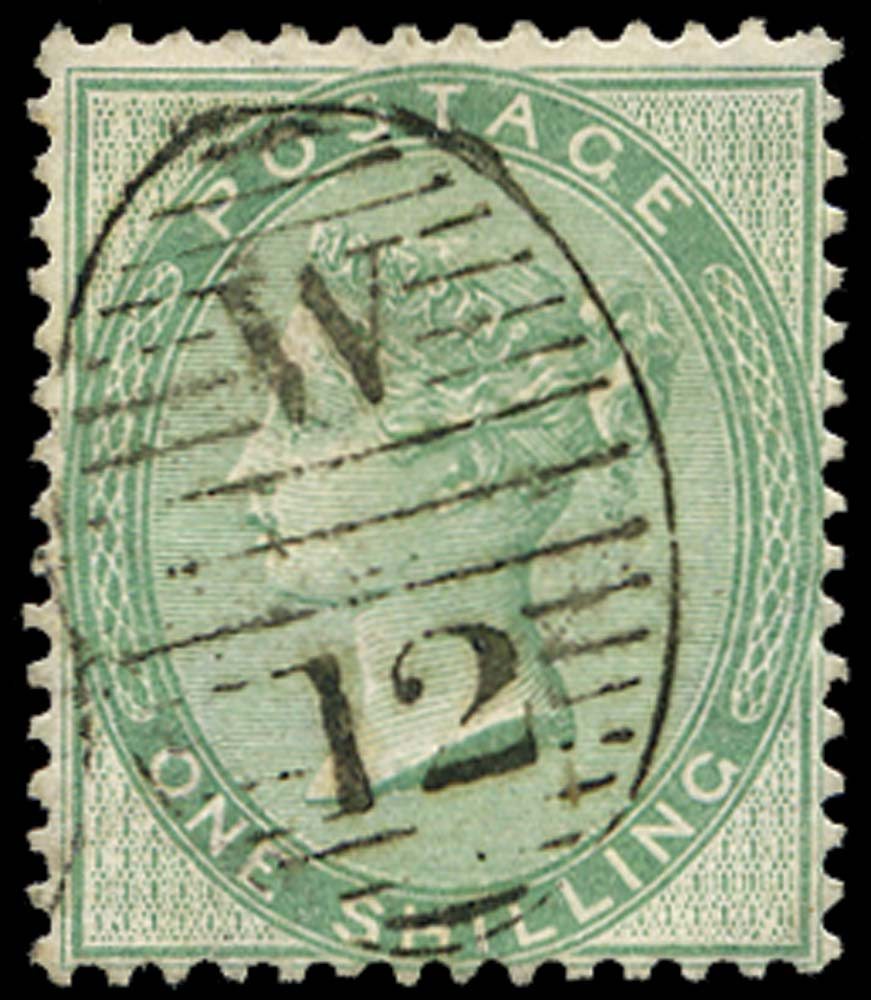 GB 1856  SG72b Used - Thick paper