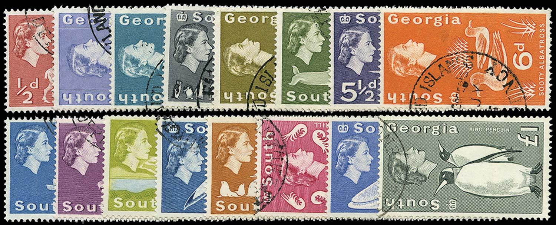 FALKLAND ISLAND DEPS 1963  SG1/16 Used