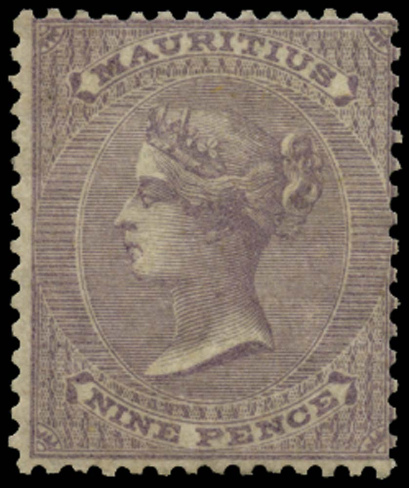 MAURITIUS 1860  SG51 Mint