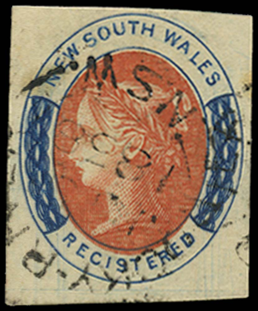 NEW SOUTH WALES 1856  SG103 Used