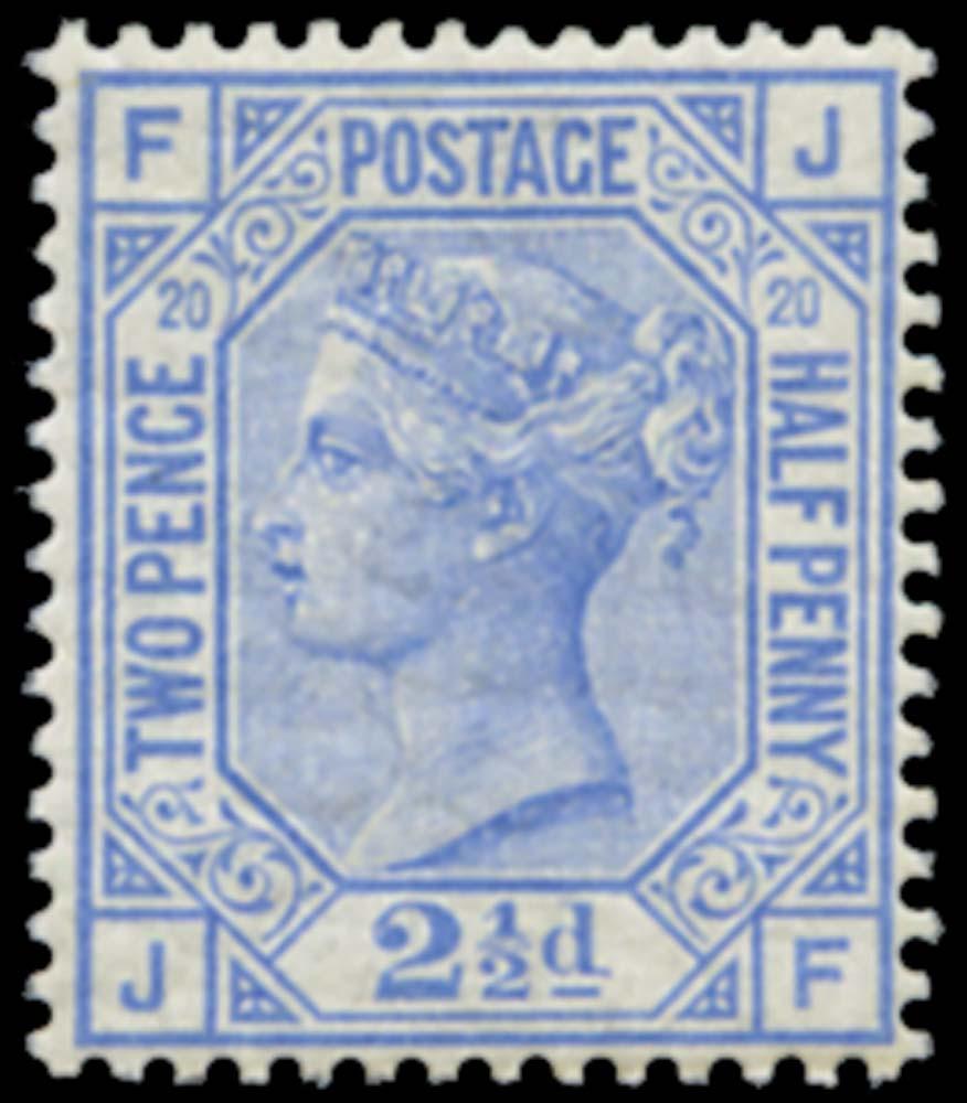 GB 1880  SG142 Pl.20 Mint