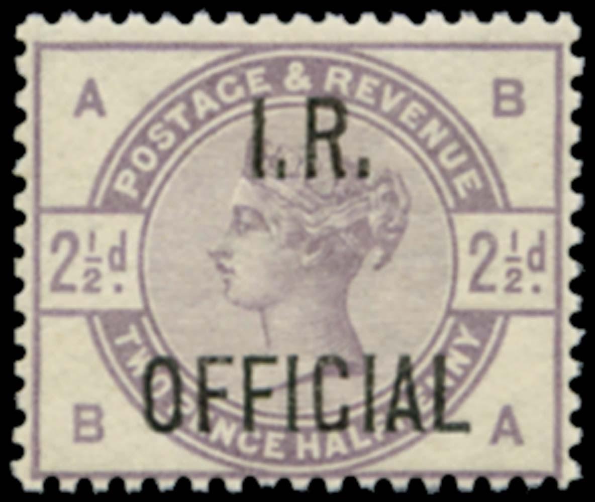 GB 1885  SGO6 Official - Unmounted o.g.
